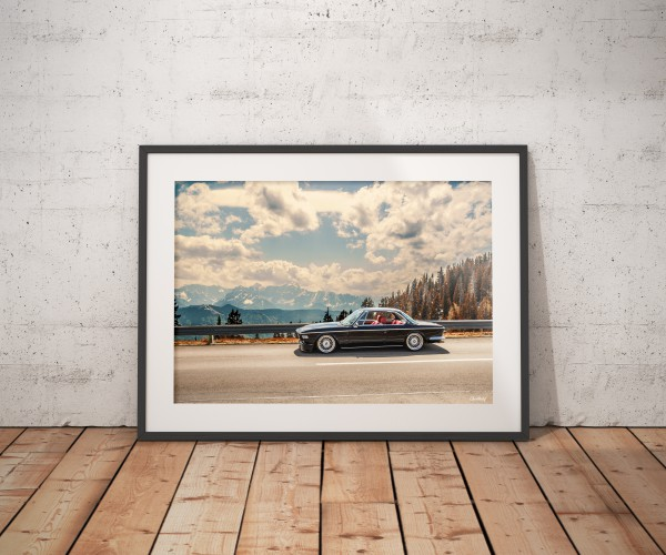 BMW E9 Limited A1 Print 1 of 100